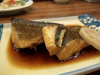 20060520 魚半日吉苑 夕食 煮物