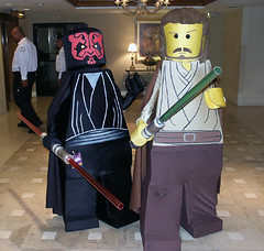 Star Wars Lego Guys - Baycon 2006 photo by artvixn