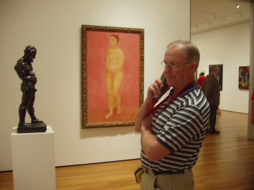 Dad in Moma