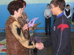 Поздравляют Паукова Антона