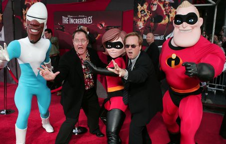 The Incredibles movie premiere