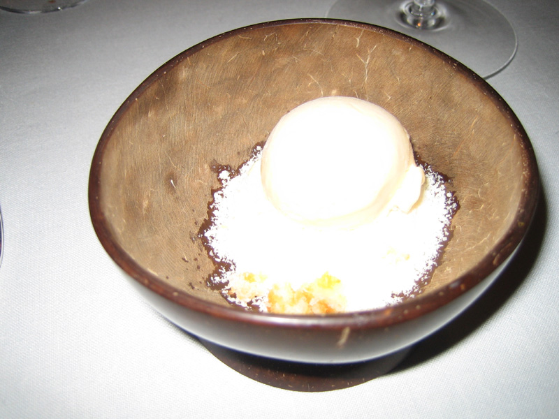 Can Roca - Egg Yolk Ice Cream with Coconut
