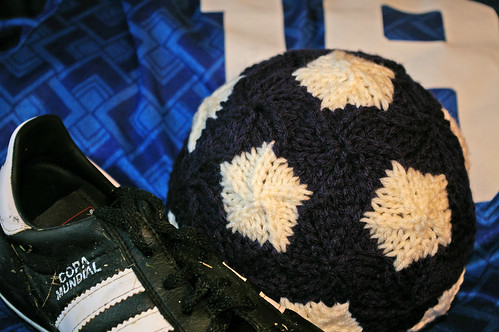 543624b1dce Needle Exchange » World Cup Soccer Ball Knitting Pattern