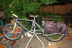 Mostly-built cargo bike