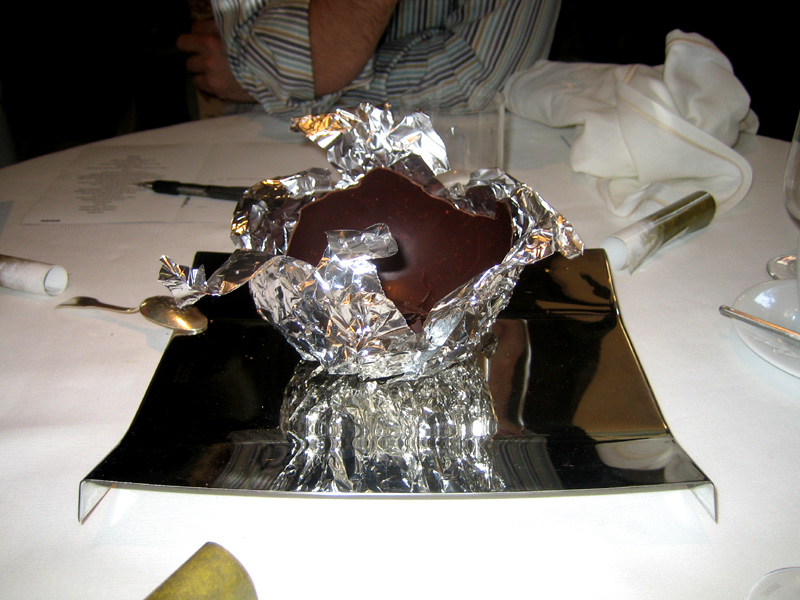 El Bulli - Hollow Chocolate Balloon