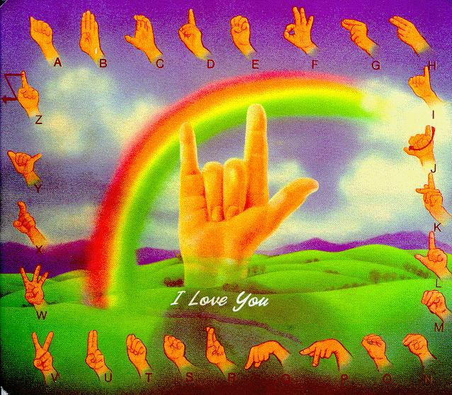 How to Say i Love You in Sign Language Sign Language i Love You