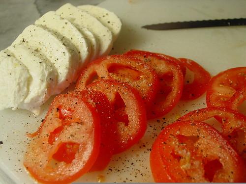 Veggie Mozzarella Tomato