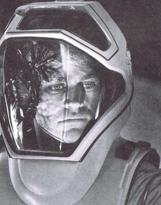 borg in spacesuit