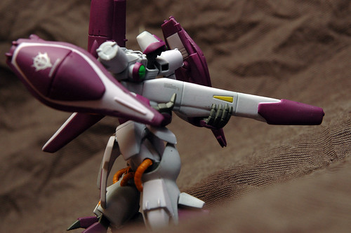 Gundam Ultimate Operation Plus Vol.4 -- AMX-003 GAZA C [Haman Karn Customized]
