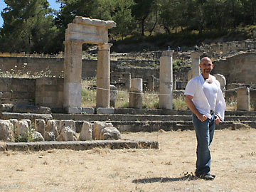 In the forum at Lindos, Rhodes