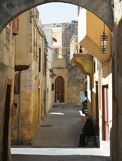 A street, Rhodes Town