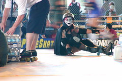 Rat City Roller Girls Series:  Getting ready to warm up