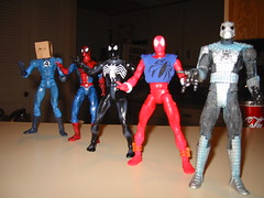 Marvel legends Spider-man Costumes