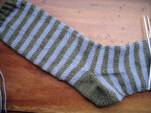 basic stripes sock wip