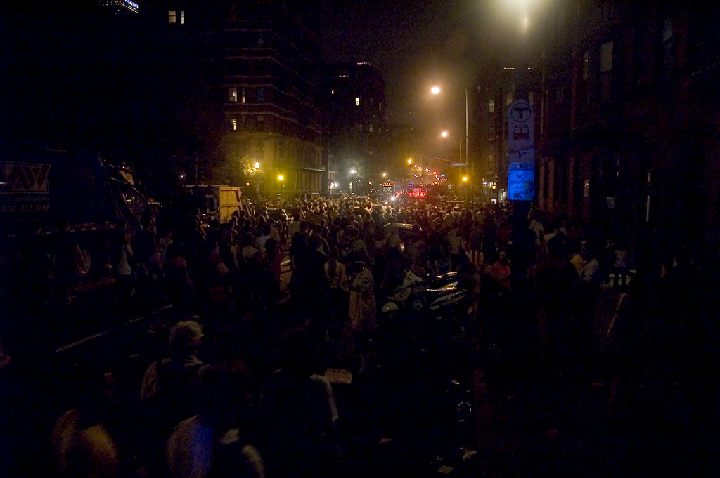 Mass Ave after the Fireworks