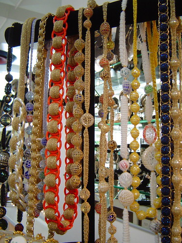 Necklaces at Fred Segal