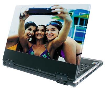 portatil con imagen