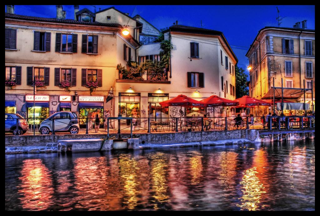 Evening in Europe