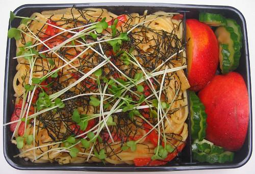 Tarako spaghetti lunch お弁当