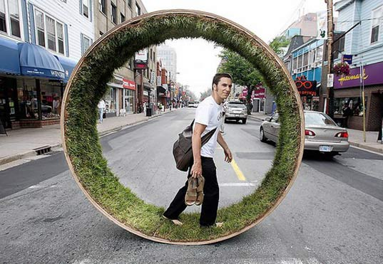 grass wheel, dalhousie school of architecture