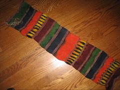 Big Ten Tribute -- a sock yarn