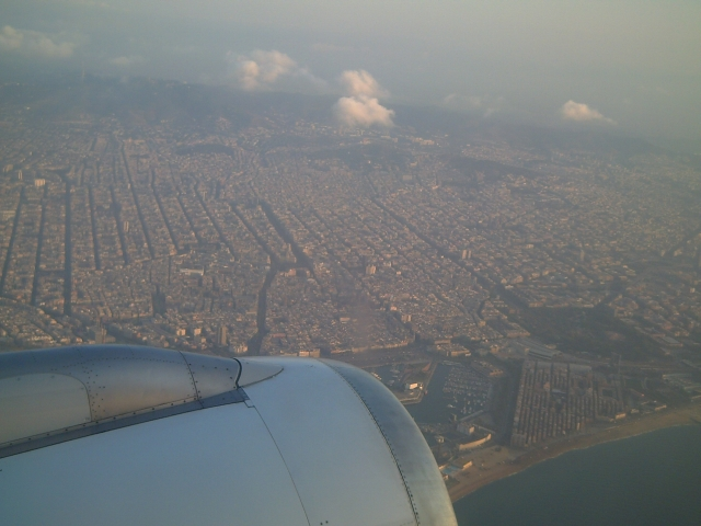 Aerial Shot of Barcelona