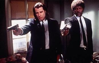 Pulp Fiction, Samuel L.Jackson y John Travolta, galería de imágenes