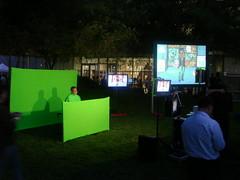 Karaoke at Google Dance V
