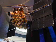 0238 GPS satellite - the only one on display in the world