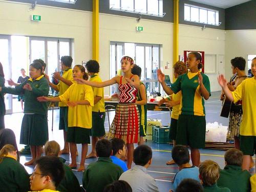 Rotorua學生集體示範-1