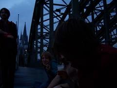 hohenzollernbrücke, 6:33am.