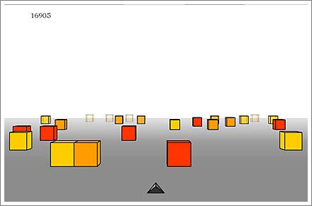 Cubefield cubefield full screen
