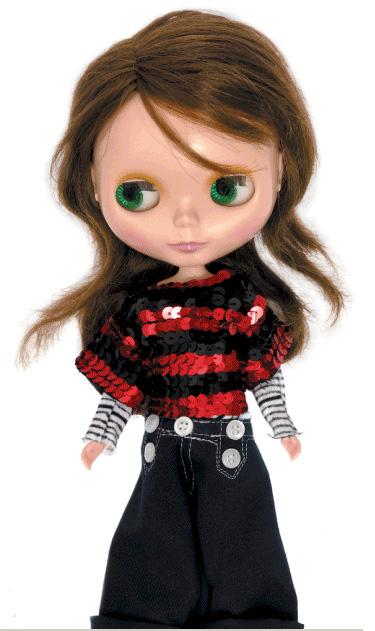 NYLON magazine's Blythe Doll