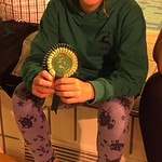 5th placed girl<br/>20 Sep 2015