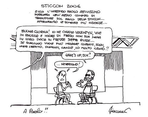 Vignetta Sticcon