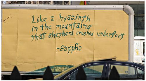 Sappho Street Poetry
