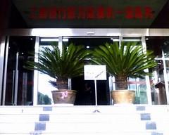 工商银行的台阶与装饰