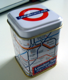 London Underground Tea Caddy