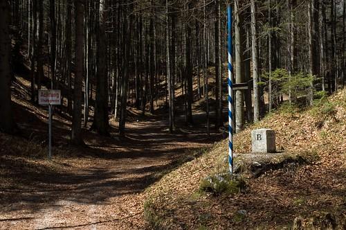 the austrian border