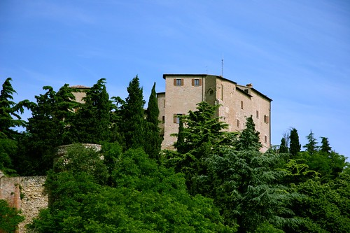 The Castle of Bertinoro, where the meeting was