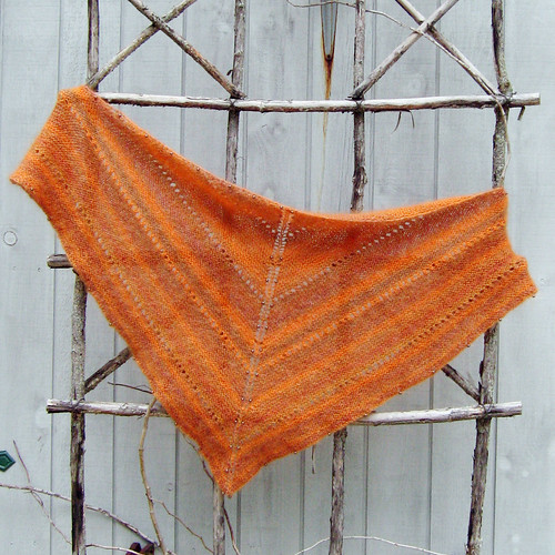 Mohair Tiger Beaded Shawl Free Knitting Pattern from the Shawls and stoles Fr...