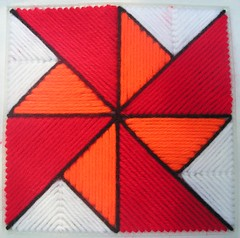 Pinwheel (Quilt Block Pattern in Plastic Canvas) photo by Dogluvr