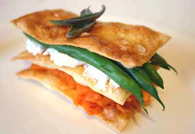 Vegetable Mille-Feuille