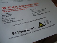No! FEMA shills for flood insurance