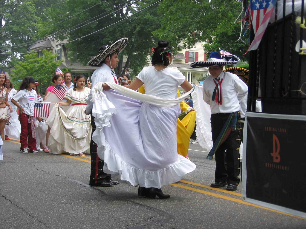 St. Peter Claver Church Mexican dance unit