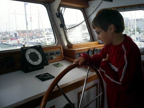 Eldest son at the helm