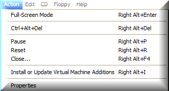 Install Virtual Machine Additions