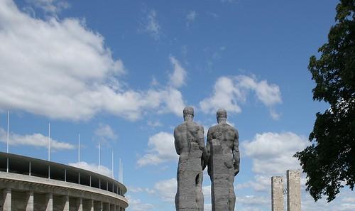 Skulpturen Olympiastadion