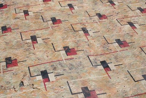 the coolest linoleum pattern ever