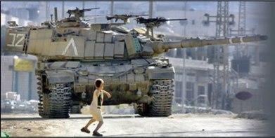 Tanque vs niño